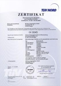 Druckgeräterichtlinie 97/23/EG Modul-A1